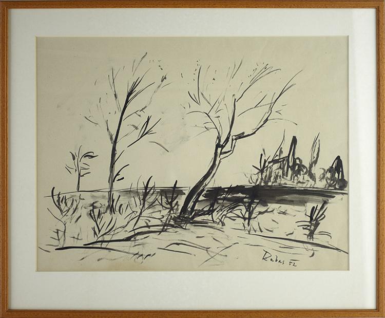 Vaclav Rabas Stromy Galerie Linea